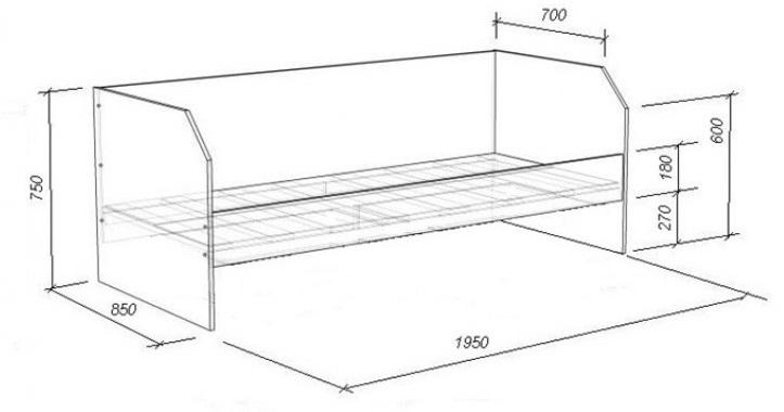Основные характеристики:Мебель изготовлена из ЛДСП 16 мм.Максимальная нагрузка на спальное место 80 кгПротивоударный кант на лестнице и бортах для безопасностиСтупени изготовлены из массива сосныКомплект можно собирать как на левую, так и на правую сторону!!!Размеры:Габариты:габариты: 1950×850×750 ммспальное место: 1900×800 ммСостав Комплекта:кровать со спальным местом: 1950×850×750 ммящик выкатной Л-01(2шт): 840×600×222 ммполка Л-03 (2шт): 626×150×800 ммВозможные цветовые решения: Матрац в комплект не входит!Как собрать мебель?Наиболее простой и надежный способ для сборки мебели – это пригласить специалиста из магазина,в котором Вы приобрели мебель.В случае если Вы имеете опыт по сборке подобной мебели,то можете осуществить сборку самостоятельно с помощью инструкции,прилагающейся к каждому изделию.